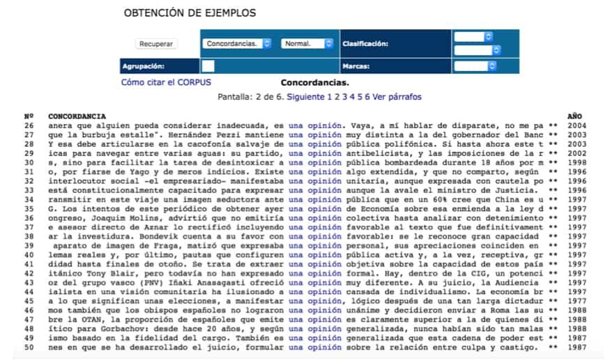 Usar los corpus para trabajar el léxico en clase de ELE